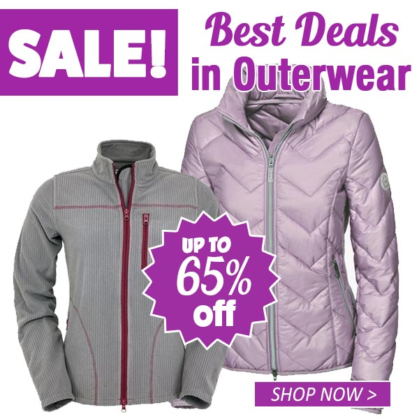 Save up to 65% off on Outerwear!