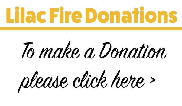 Donations for Lilac Fires