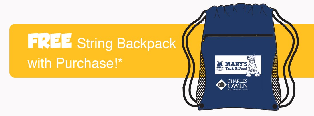 Free Backpack w/ purchase!*