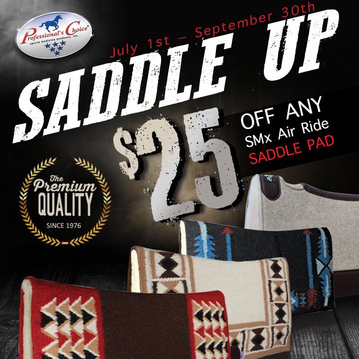 Saddle Up & Save $25
